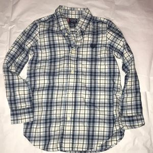 Button down boys shirt